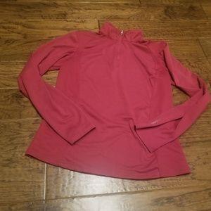 Alpine Design 1/4 Zip Athletic Pullover -L- Maroon